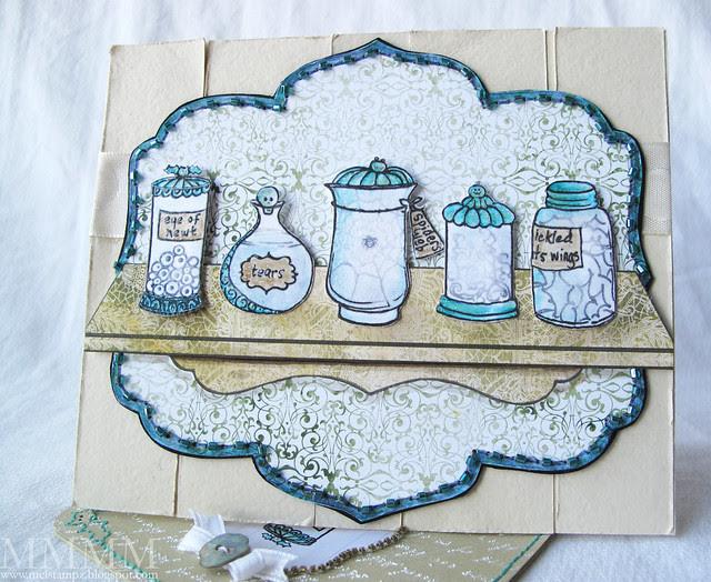 apothescary jars & shelf digi freebie mel stampz
