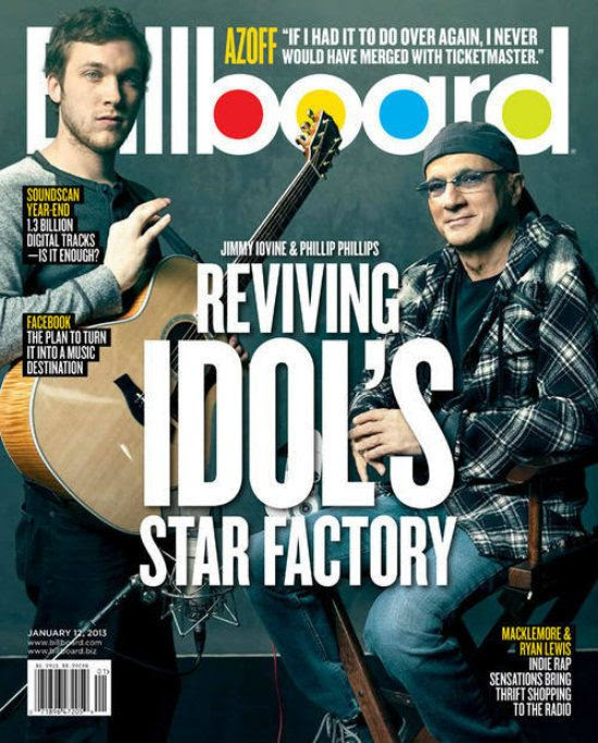 Billboard (1/12/13), Phillip Phillips