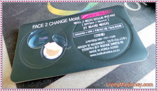 Face 2 Change Moist Cushion BB