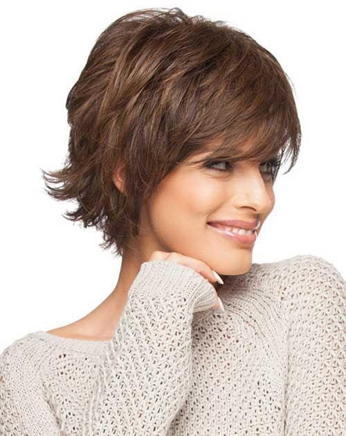 55 Short Layered Hairstyles No Bangs Charming Style