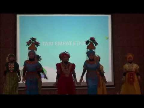 Video Tari Empat Etnis Sulawesi Selatan, Indonesia