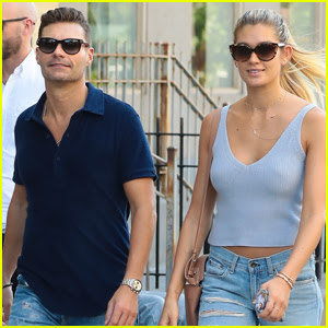 Ryan Seacrest & Girlfriend Shayna Taylor Couple Up in NYC After Romantic Italian Vacay
