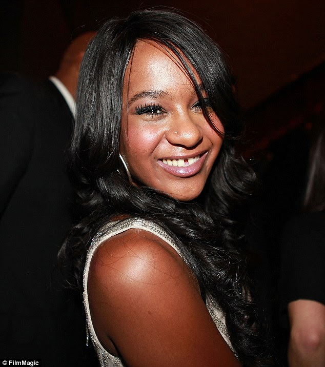 Aspiring singer: In the final few weeks of her life, Bobbi Kristina's family members had made the difficult decision to withdraw her medication after being told by specialists that there was no hope of her recovery