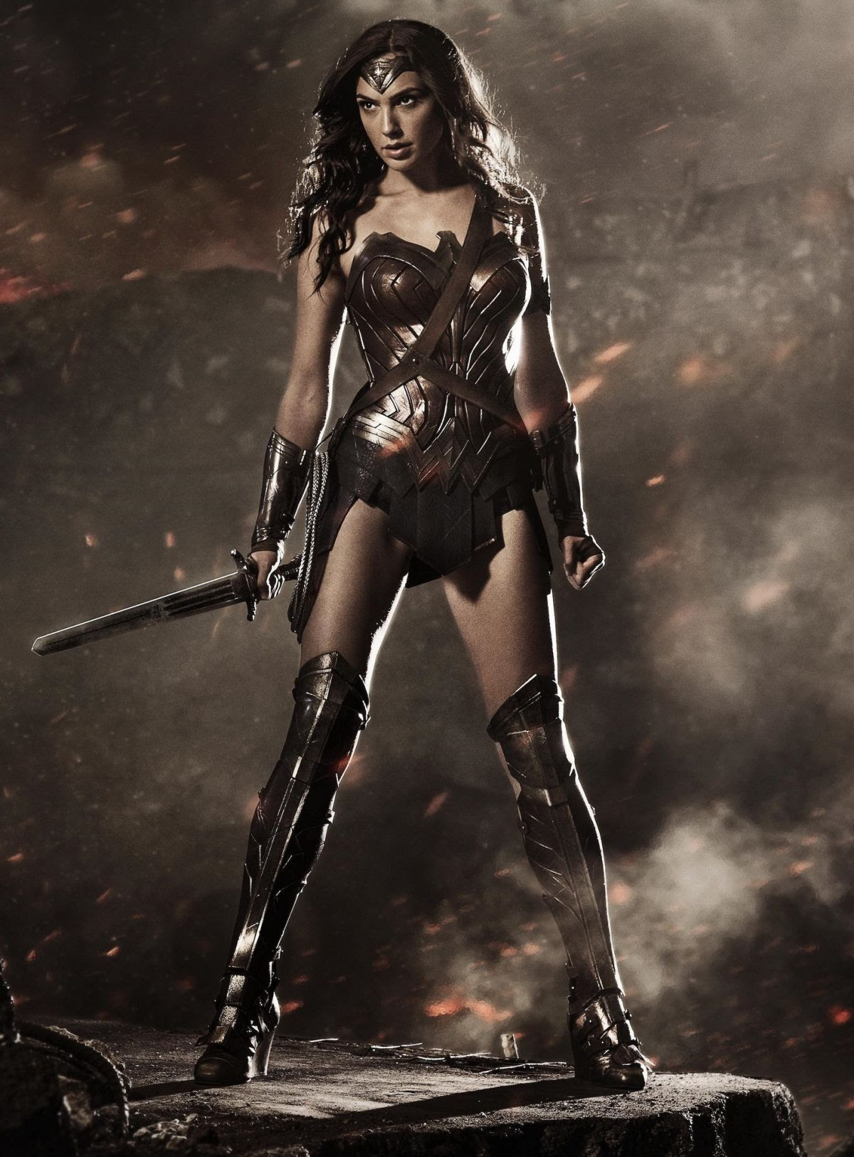 GAL GADOT - Superman vs Batman - Wonder Woman - Justice League - Posters and Promo Pictures