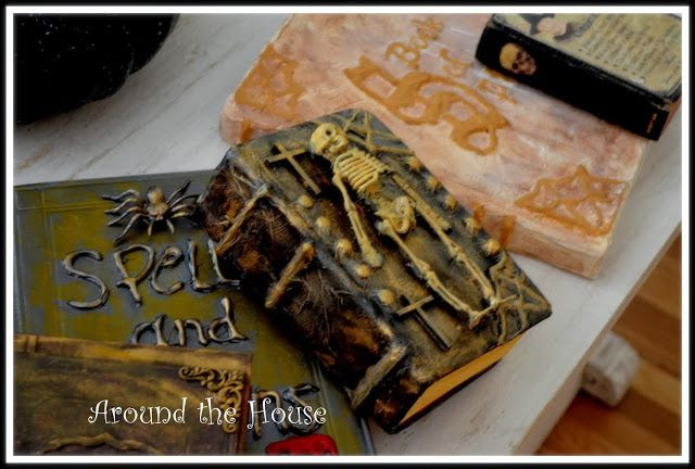 AROUND THE HOUSE: HALLOWEEN VIGNETTES