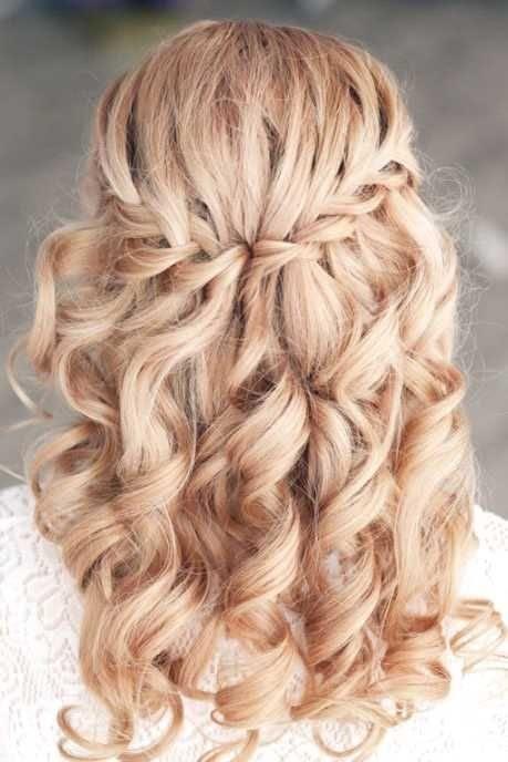 Flechtfrisuren Offene Haare