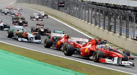 Circuíto de Fórmula 1 em Serra Negra do Norte
