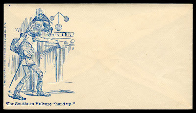 The Southern Vulture - envelope caricature
