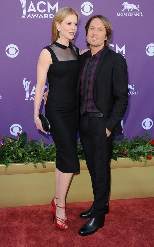 Academy of Country Music Awards - April 1, 2012, Nicole Kidman, Keith Urban