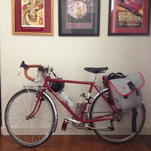 Cyclo campiste today!