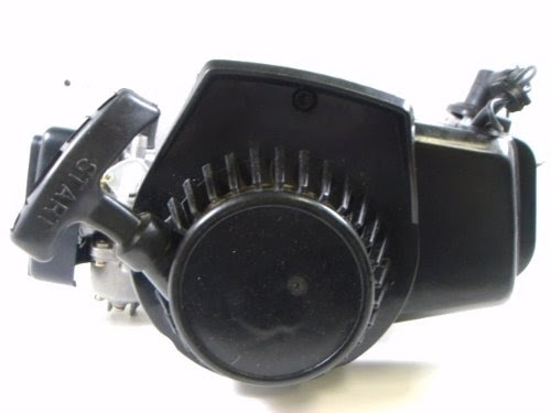 Mini Pocket Bike 2 Stroke Engine Motor 49cc Parts EN02