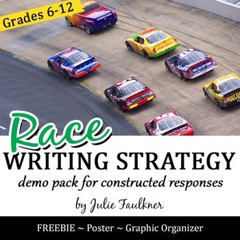 RACE Written Response Mnemonic Strategy Lesson & Evaluatio