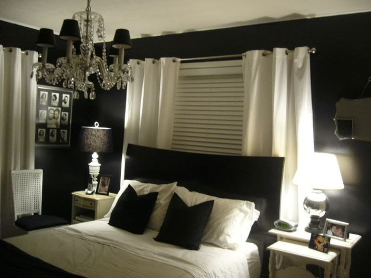 Dark colors for the bedroom