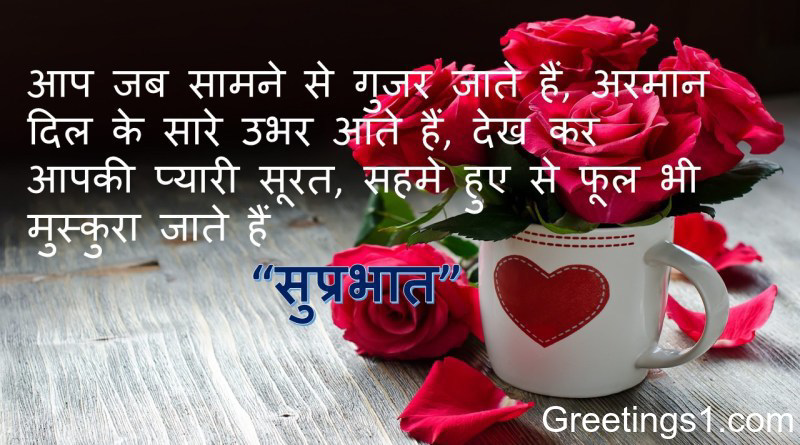 Good Morning Shayari For Girlfriend Greetings1