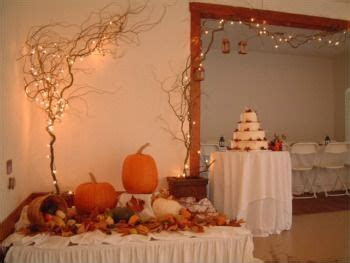 fall wedding decoration ideas simple fall wedding