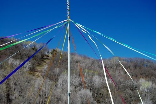 Maypole in the Meadow