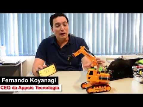 Robôs e Carrinhos de Rádio Controle com Bluetooth  e Arduino (gastando pouco)