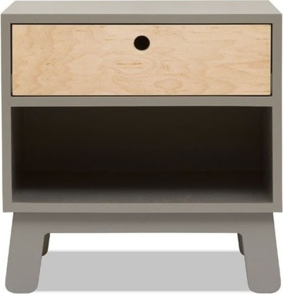 Sparrow 1 Drawer Nightstand - modern - nightstands and bedside ...