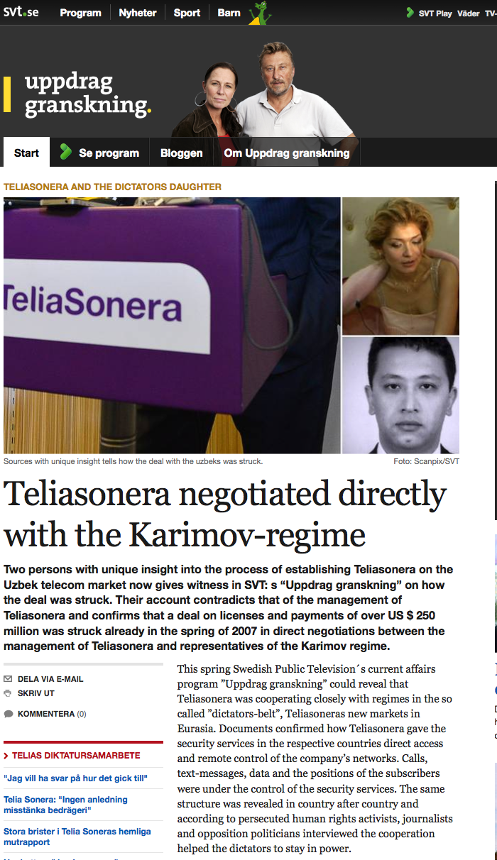Big Uppdrg-granksn TeliaSonera- www.svt.se screen capture 2013-1-1-18-21-54
