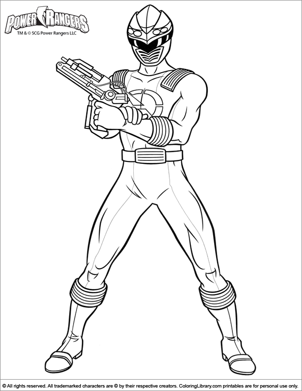 214 Dessins De Coloriage Power Rangers à Imprimer Sur Laguerchecom