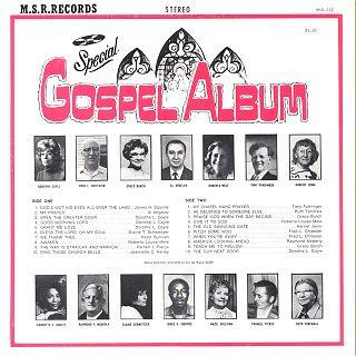MSR Records Special Gospel Album