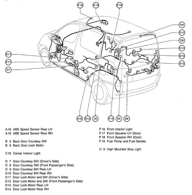 2004 Prius Parts Manual