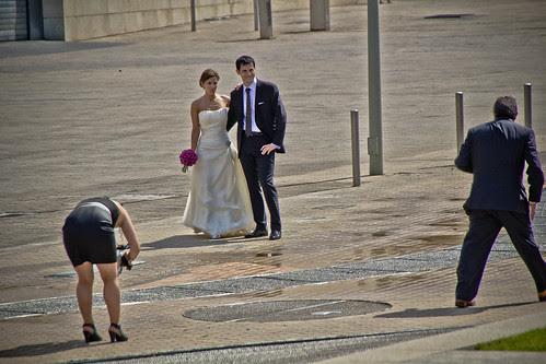 Fotos de bodas en el Museo Guggenheim Bilbao