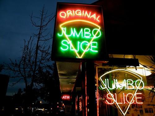 Original DC Jumbo Slice Pizza