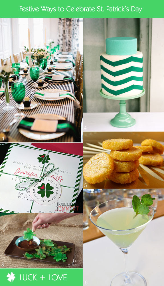 Host An Elegant And Stylish St Patricks Day Bridal Shower Unique