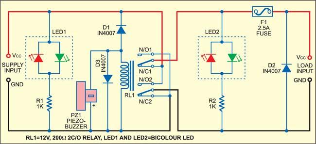 Power Supply Reversal Correcter-Cum-Preventer