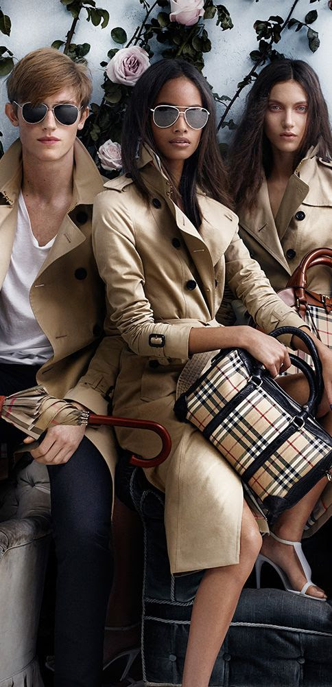Burberry Spring/Summer 2014 campaign
