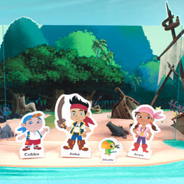 Jake and the Never Land Pirates Playset