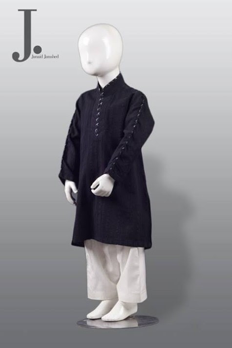 Kids-Child-Wear-Kurta-Shalwar-Kameez-New-Fashionable-Clothes-Collection-2013-by-Junaid-Jamshed-