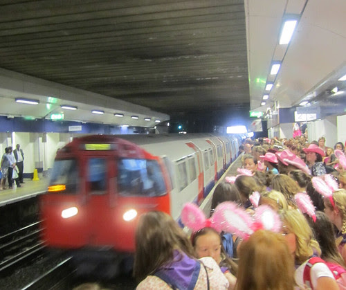 The Wanted Children invade The Tube