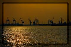 Greece Thessaloniki harbor