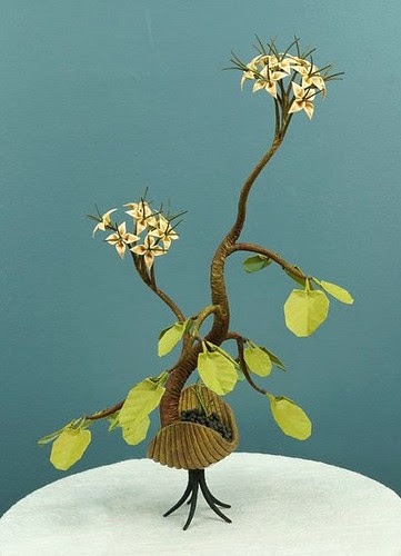 Origami Bonsai Sculpture