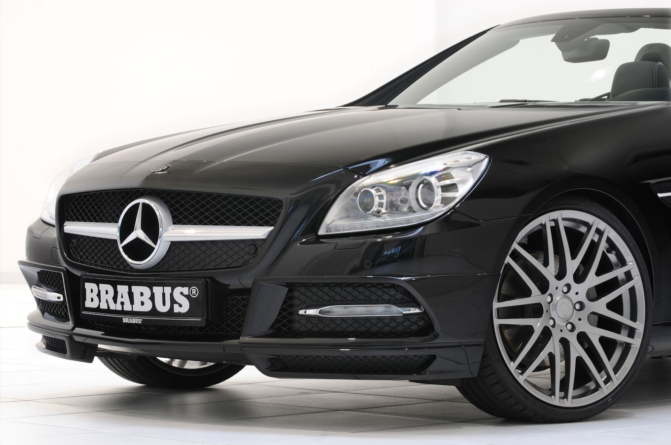Brabus Releases Performance Parts for New MercedesBenz SLK
