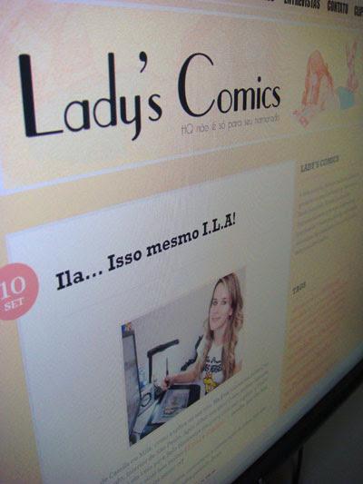 Ila Fox no site Ladys Comics