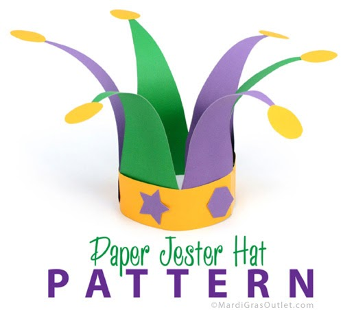 Paper Chef's Hat DIY Instructions - Red Ted Art - Make crafting ... | 452x500