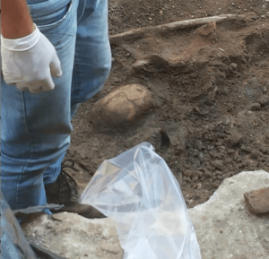 Novos ossos de escravos são descobertos no centro do Rio de Janeiro