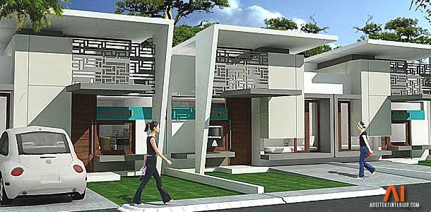 Desain Rumah Type 36 | ARSITEKtur | Pinterest