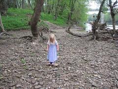 Lorelei on the rocks