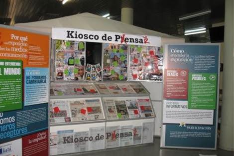 El 'Kiosco de Pensar', en la Estación de Atocha.| CIPÓ Company