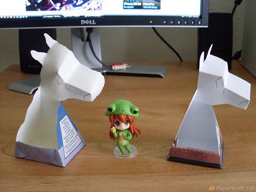 Super Robot Dog Paper Illusion 02