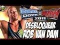 Desbloquear Rob Van Dam WWE Smackdown vs. Raw 2011