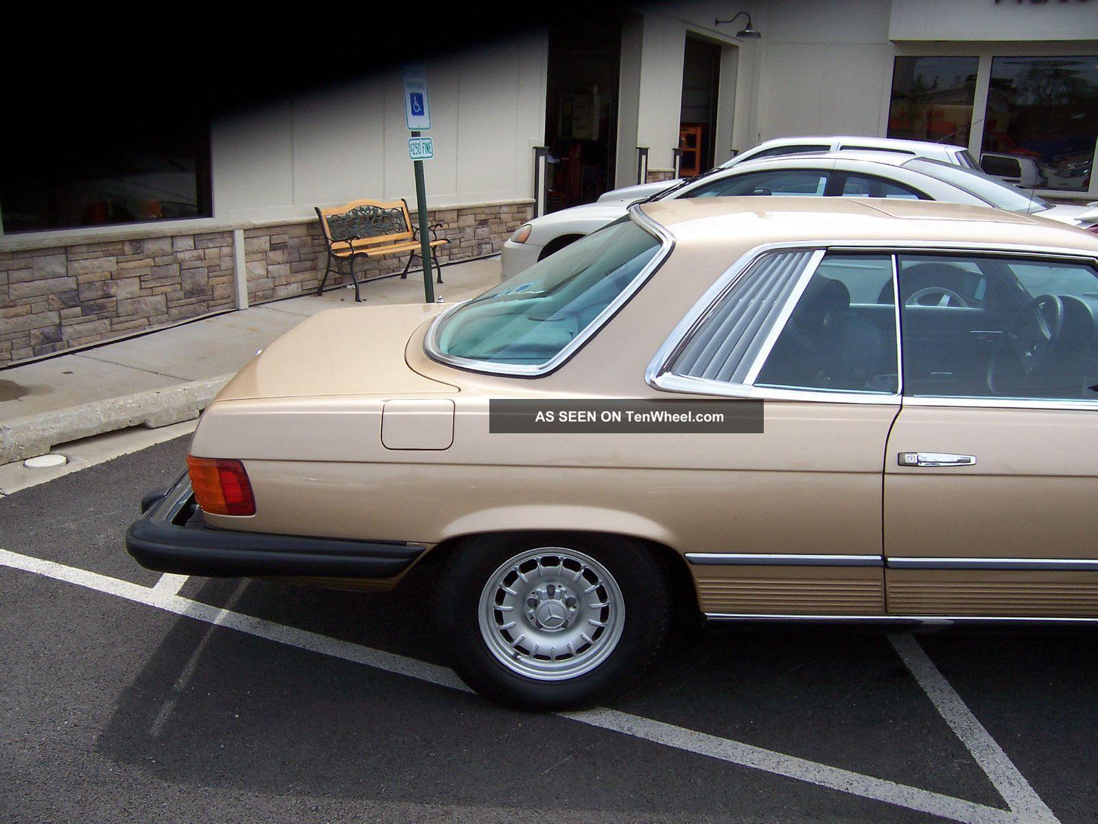1980 Mercedes Benz Slc 450 1981 1982 1983 80 81 82