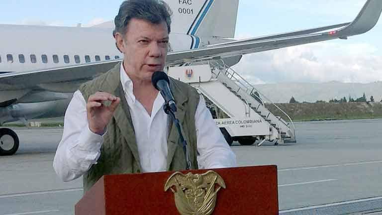 El gobierno de Colombia aplaza las negociaciones con las FARC