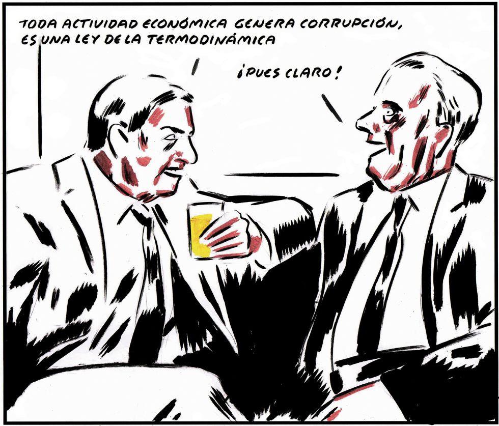 Resultado de imagen de El Roto sobre corrupción política