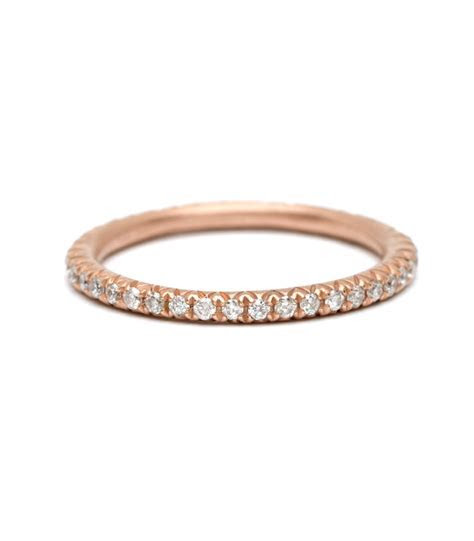 Eternity Bands   Micro Pave Diamond Eternity Band