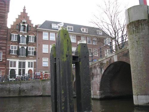 Fundações usadas nas construções de Amsterdam